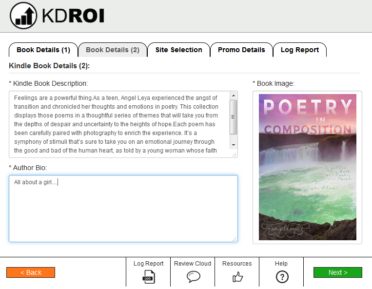 KDROI, a fantastic tool for marketing your book promotions